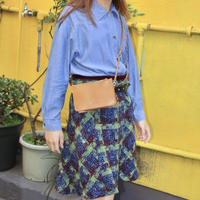 phase eight green and purple skirt