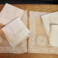 lace napkins 6p set E