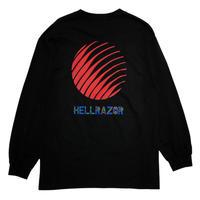 Hellrazor PARCO LOGO  L/S Tee [BLACK]