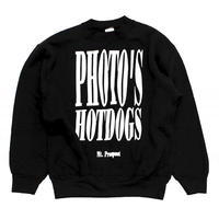 90's PHOTO'S HOTDOGS L/S Sweatshrit