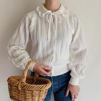 Euro Vintage Wide Waistband Knit cardigan