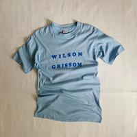 70's USA WILSON GRISSOM Lngo Print Tee