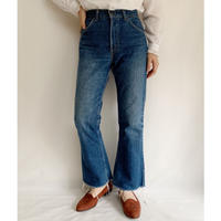 70's - 80's USA Levi's Orange Tab 517 Denim Pants
