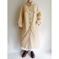 Euro Vintage A Line Silhouette Long Coat