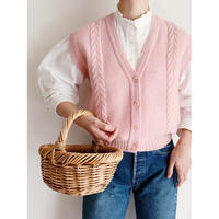 """70's - 80's USA """" PENDLETON """" Short Style Knit Vest"""