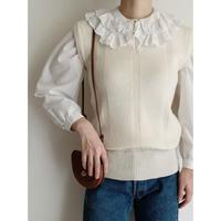 Euro Vintage Long Knit Vest