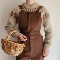 Icelandic Lopi Wool Knit Sweater
