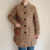 Euro Vintage Tweed Long Jacket