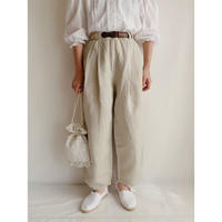 Euro Vintage Two Tuck Wide Leg Pants