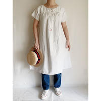 - 20's French Cotton Night Long Dress