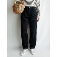 Euro Vintage Corduroy Waist Tucked Pants