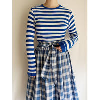 70's Euro Vintage Striped Cut and Sewn