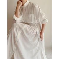 Euro Vintage Maxi Length Shirt Dress