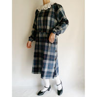 70 -80's Euro Vintage Plaid Dress