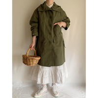 "70's - 80's Euro Vintage "" hettemarks "" A Line Hooded Coat"