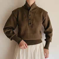 74's Dead Stock U.S. ARMY Five Buttons Knit Sweater