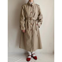 Euro Vintage Long Trench Coat