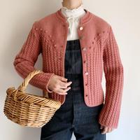 Euro Vintage Tyrol Knit Jacket