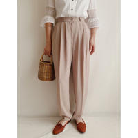 U.K. Vintage Tuck Tapered Pants