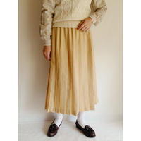 - 80 's USA Pleated Long Skirt