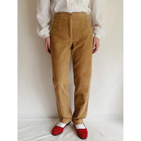 Euro Vintage Corduroy Tapered Pants