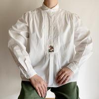Euro Vintage Folk Design Cotton Shirt