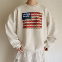 "80's USA "" Campbell's Soups "" Printed Sweat Shirt"