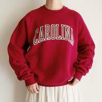 80's - 90's USA CAROLINE Printed Sweat Shirt