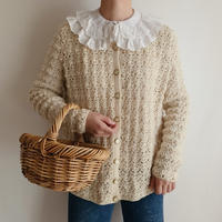 Euro Vintage Hand Knit Cardigan