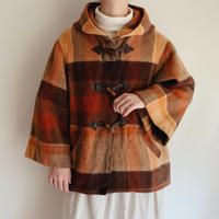 Plaid Duffle Aline Coat