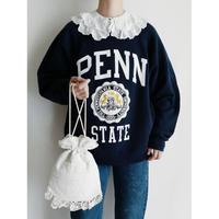 80's USA PENN STATE College Printed Sweat Shirt