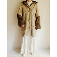 Euro Vintage Over Silhouette Duffle Coat