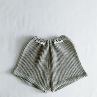 Euro Vintage Gray Knit Short Pants