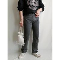90's  USA Levi's 501 Faded Black Denim Pants