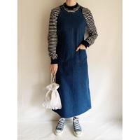 90's Denim Long Dress