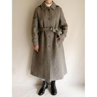 70's Euro Vintage A Line Silhouette Long Coat