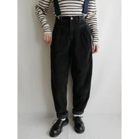 """80's USA """" CHEROKEE """" Black Corduroy Pants"""