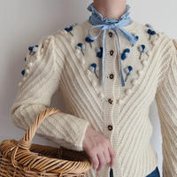 Euro Vintage Tyrolean Knit Cardigan