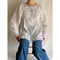 Mexican Cotton Lace Design Blouse