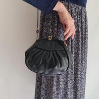 Euro Vintage Black Shoulder Bag