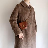 70's - 80's Euro Vintage Faux Fur Aline Coat