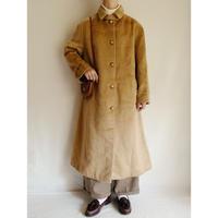 70's Euro Vintage Beige Aline Long Coat
