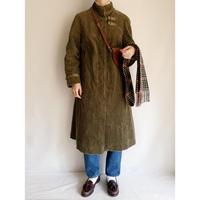 70's Euro Vintage Corduroy Aline Coat