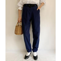 Euro Vintage Two Tuck Tapered Pants