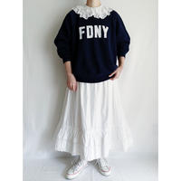 "80's USA "" FDNY "" Printed Sweat Shirt"