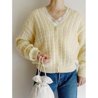 Euro Vintage Hand Knit Cardigan