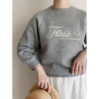70's - 80's USA Florida Printed Sweat Shirt