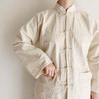 Euro Vintage China Buttons Cotton Jacket