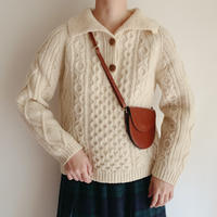 70's Irish Cable Pullover Knit Sweater
