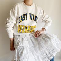 80's USA College Logo Foam Print Sweat Shirt